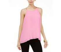 Women's Pleated Top, Pale Orchid