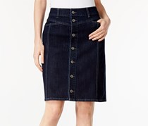 Style & Co. Button-Front Pencil Skirt, Caneel