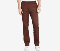 Calvin Klein Men's Slim-Fit Single Pleat Twill Pants, Fondu Fudge