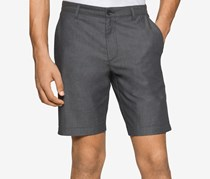 Calvin Klein Double Face Cuffed Shorts,Charcoal