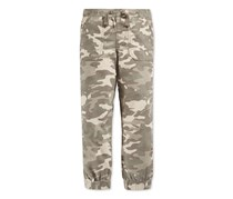 Epic Threads Little Boys' Camo Joggers, Medium Green