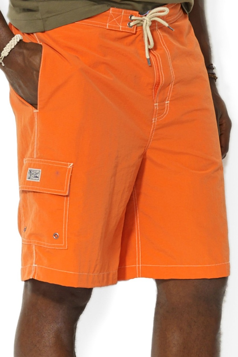 e031b8a6e3c16 Shop Ralph Lauren Ralph Lauren Orange Polo Big and Tall Kailua Swim Trunks  for Men Clothing in United Arab Emirates - Brands For Less