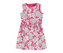 New York Clothing Company Floral Pattern Fit & Flare Dress, Fuchia