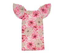 New York Clothing Company Floral Off-shoulder Dress, Pink