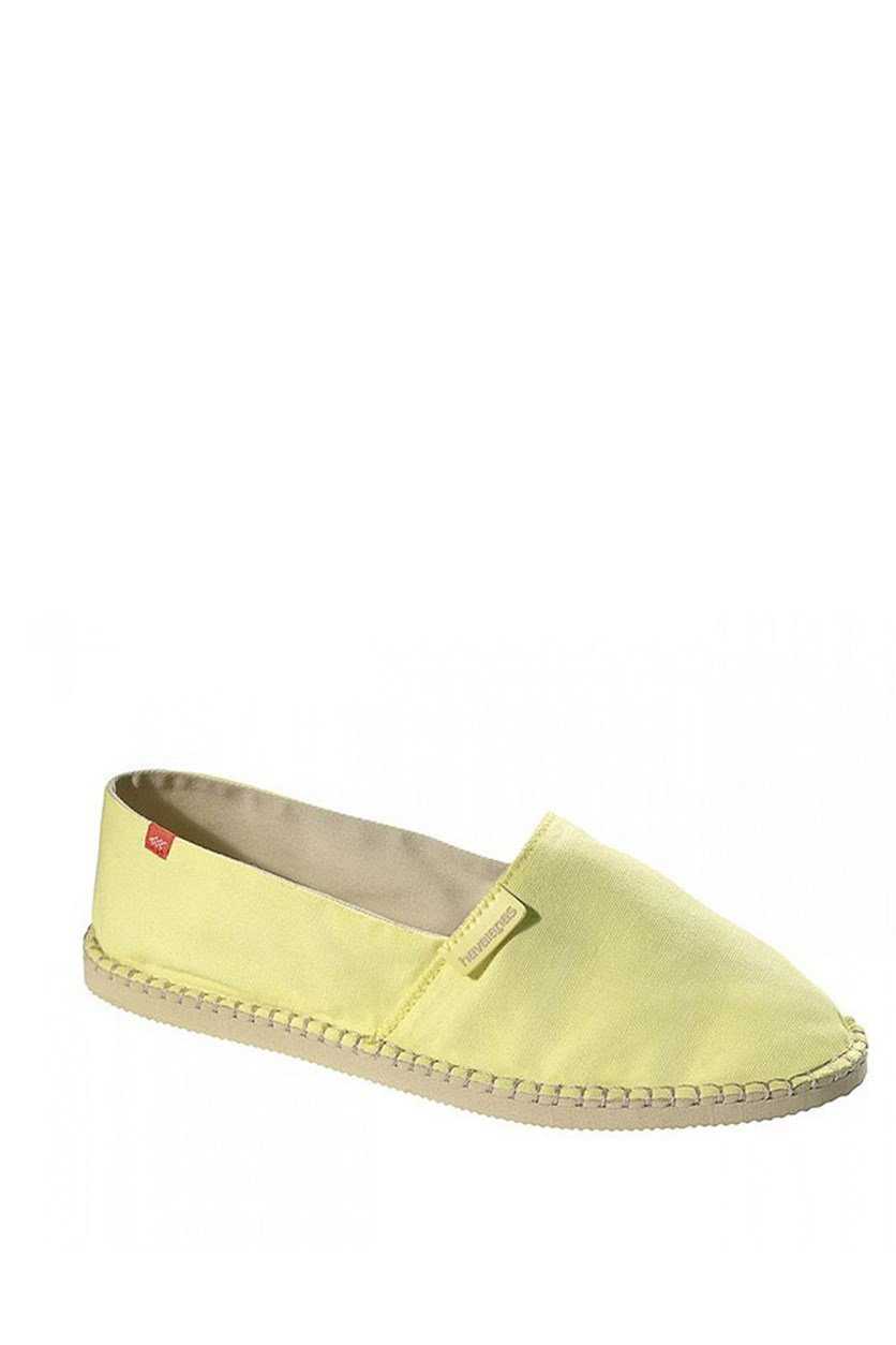 Origine II Flat Shoes, Light Yellow
