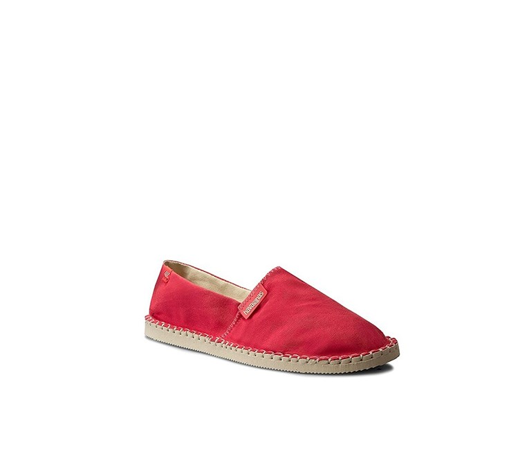 Women's Espadrilles Flat Shoes, Red