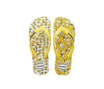 Havaianas Toddlers Snoopy Slippers, Yellow