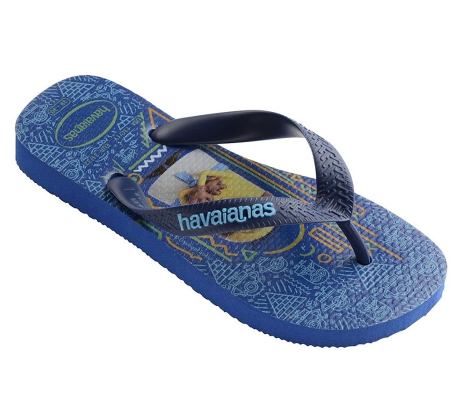 a982188039a7 Shoes   Bags Havaianas Printed Flip Flops Kids Minions 4133126