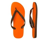 Havaianas Womens Style 1 Color Up Flip-Flop Thong Sandals, Neon Orange