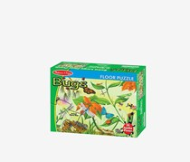 Melissa and Doug Bugs Floor Puzzle, Green