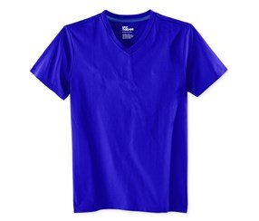 Epic Threads Boys Solid V-Neck T-Shirt, Lazulite Blue