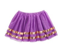 Epic Threads Kids Girls Stripe Tutu Skirt, Sugar Violet