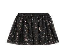 Epic Threads Galaxy-Print Tutu Skirt, Deep Black