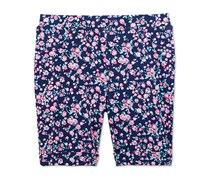 Epic Threads Floral-Print Bermuda Shorts, Impatiens Pink