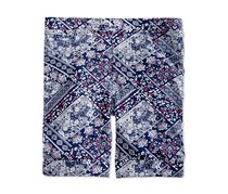 Epic Threads Bandana-Print Bermuda Shorts, Medieval Blue