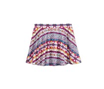 Epic Threads Girl's Mix and Match Geo-Print Scooter Skirt, Holiday Ivory