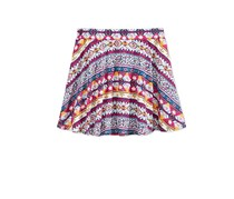 Epic Threads Little Girl's Mix and Match Geo-Print Scooter Skirt, Holiday Ivory