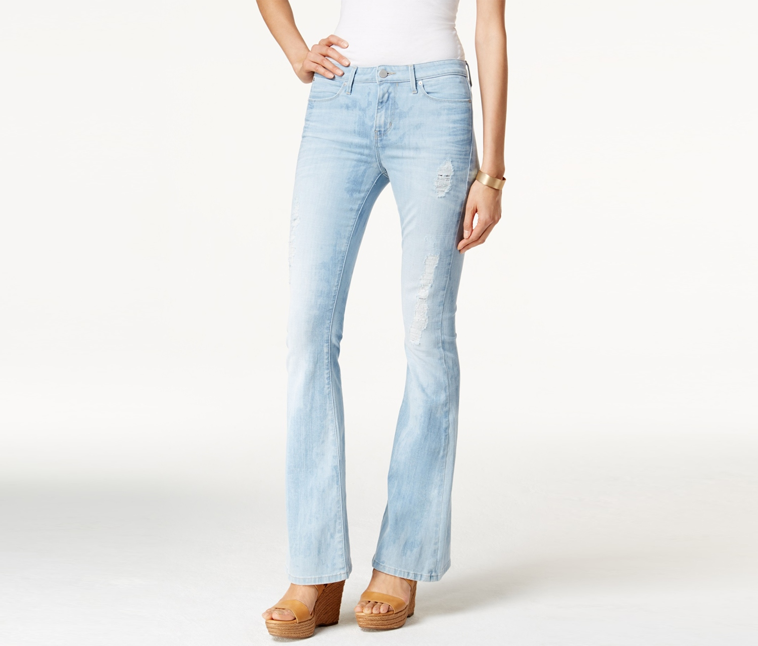 Calvin Klein Jeans Women's Flare Jeans, Bourges