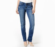 Calvin Klein Straight-Leg Wash Jeans, Twilight Water