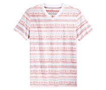 Epic Threads Boys Stripe T Shirt, Harvest Flame