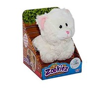Toy Target Zookiez Cat Plush Toy, White