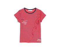 Boboli Toddler's Stretch Knit Striped T-shirt, Red
