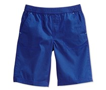 Epic Threads Little Boy's Check-Print Shorts, Blue