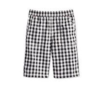 Epic Threads Gingham Shorts, Bright White/Black