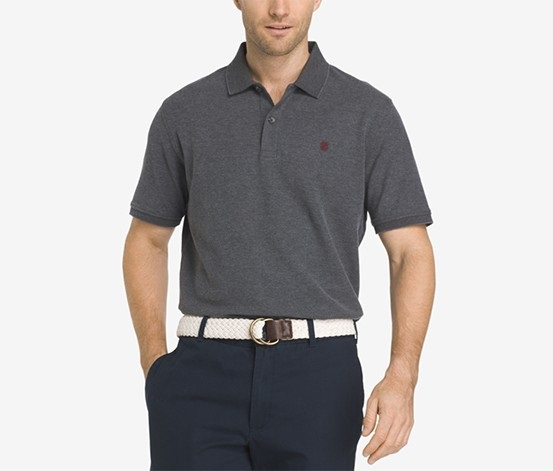 0c09cb22 Shop izod Izod Men's Advantage Performance Upf 15+ Polo, Carbon ...