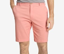 Izod Men's Saltwater Stretch Chino Shorts, Peach Amber