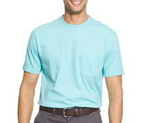 Izod Men's Double Layer Pocket T-Shirt, Blue Radiance