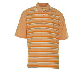 Men's Slim Fit Polo Shirt, Orange Peel