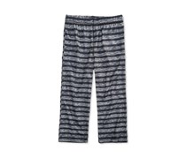 Max & Olivia Striped Sleep Pants, Black
