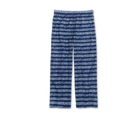 Max & Olivia Striped Sleep Pants, Blue