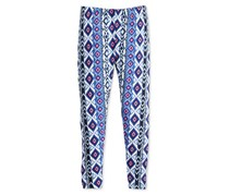 Epic Threads Geo-Print Leggings, Medieval Blue