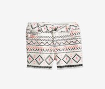 Epic Threads Big Girls Geometric-Print Shorts, Ivory