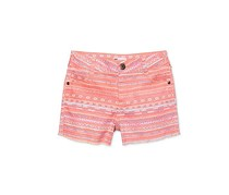 Epic Threads Geo-Print Shorts, Coral Pink