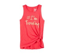 Epic Threads Graphic-Print Tank Top, Radiant Rose