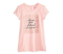 Epic Threads Graphic-Print T-Shirt, Sweet Sugar Pink/Peach