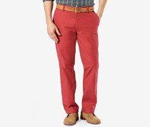 Dockers Men's Classic-Fit Pacific Wash Khaki Pants, Sutton Red