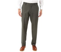 Dockers Mens Signature Stretch Flat Fit Pants, Olive Grove
