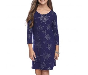Star Enya Printed Dress, Starbrite