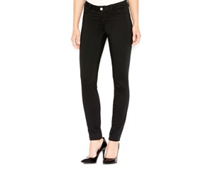 Maison Jules Sateen Skinny Pants, Deep Black