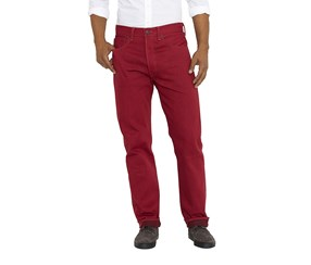 Levi's 501 Shrink-To-Fit Jeans, Red
