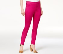 Maison Jules Pull-On Skinny Pants, Bold Berry