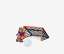 Tucker Toys Trick Shot Sports Deluxe Soccer, Multi