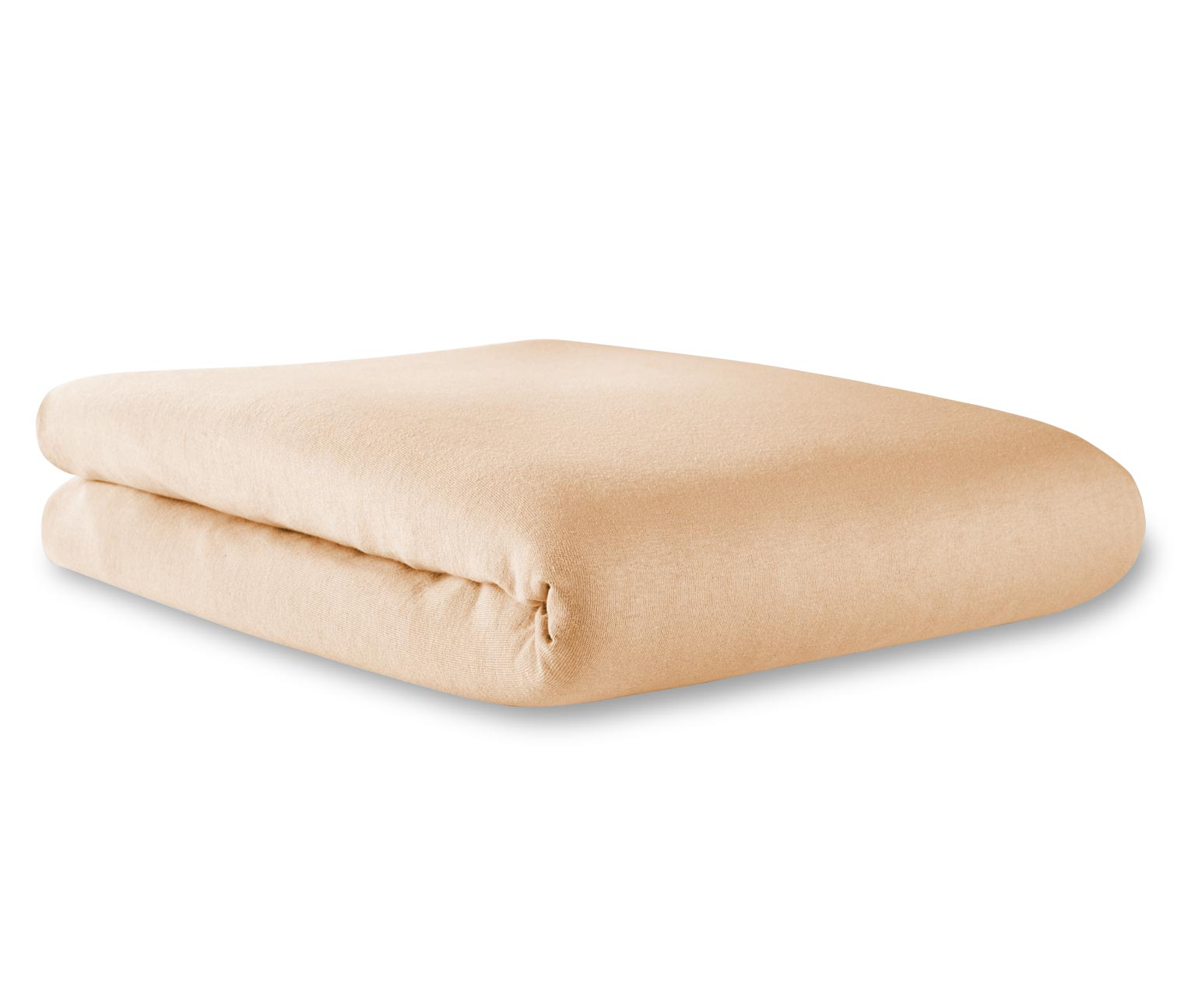 Jersey Fitted Sheets, Beige, double  Brands For Less
