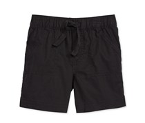 First Impressions Pull-On Shorts, Deep Black
