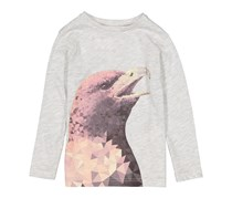 Lefties Boys Graphic Tee, Heather Grey