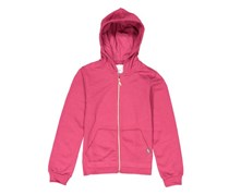 Lefties Girls Front-Zip Hoddie, Maroon